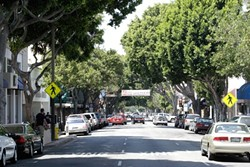 NO LONGER FREE SLO is once again charging fees at all 30-minute and 2-hour parking meters. People will still be able to use the city's three downtown parking garages and 10-hour meters free of charge until further notice. - FILE PHOTO BY STEVE E. MILLER