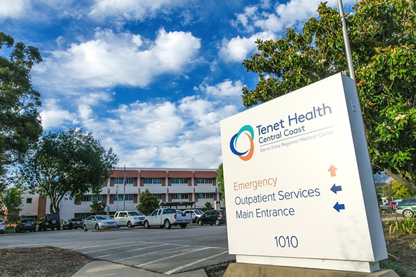 ONE-STOP SHOP Tenet Healthcare, a Dallas-based for-profit hospital owner, operates Sierra Vista Regional Medical Center in SLO, Twin Cities Community Hospital in Templeton, and a network of outpatient facilities. - PHOTO BY JAYSON MELLOM