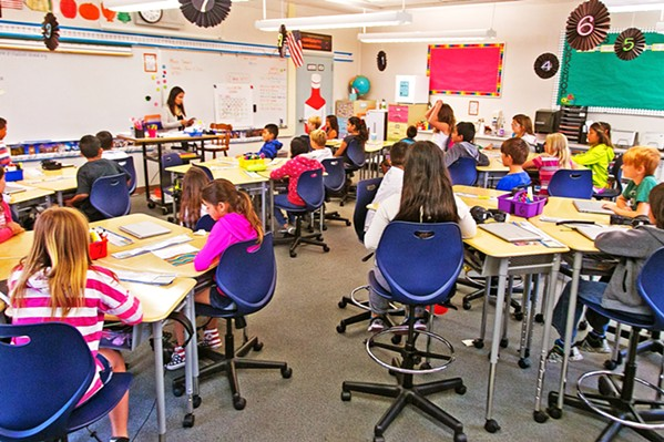 REOPENING? SLO County school districts are exploring applying for a waiver that would allow them to reopen elementary schools—despite rising COVID-19 numbers. - PHOTO COURTESY OF SAN LUIS COASTAL UNIFIED SCHOOL DISTRICT