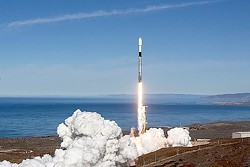 TAKING OFF A coalition of public and private groups announced a new agreement on Aug. 5 to grow the commercial space industry out of Vandenberg Air Force Base. - PHOTO COURTESY OF SPACEX