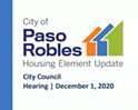 Paso Robles approves its housing element update