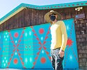 Renowned muralist Shrine decorates the Edna Valley Design Ranch