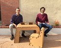 Beyond boxes: The Cardboard Guys fabricate fun furniture for kids
