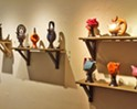 Orcutt ceramicist Don Frith shows his teapots at SLO Museum of Art