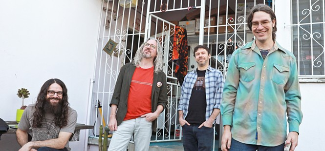 Instrumental jam band supergroup Circles Around the Sun plays SLO Brew Rock on May 6