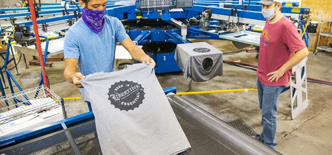 Left Coast T-Shirt Company launches campaign to help local businesses