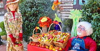 Scarecrow festival draws thousands to Cambria for a visual and culinary feast