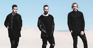 Australian trio Rüfüs du Soul brings live electronica to the Avila Beach Golf Resort July 18