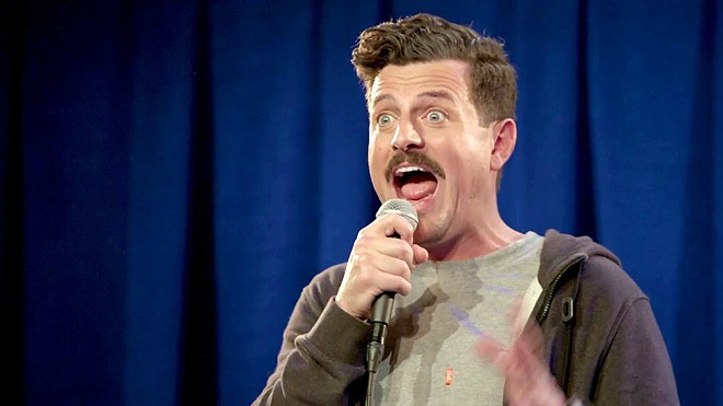 FUNNY MAN Comedian Chris Fairbanks has a new comedy special available on his website, chrisfairbankscomedyspecial.com.