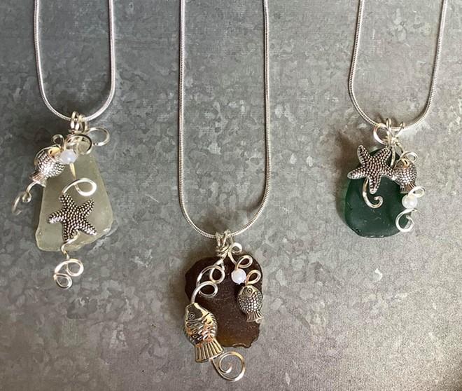 Sea Glass Jewelry Class