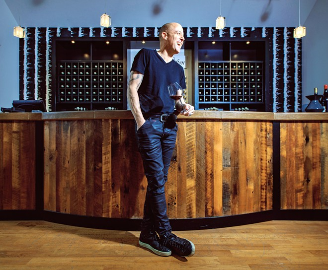 DEDICATED Greg Brewer of Brewer-Clifton was named Wine Enthusiast's Winemaker of the Year in 2020.