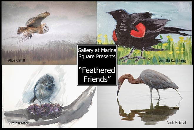 Feathered Friends, a Fine Art Group Show
