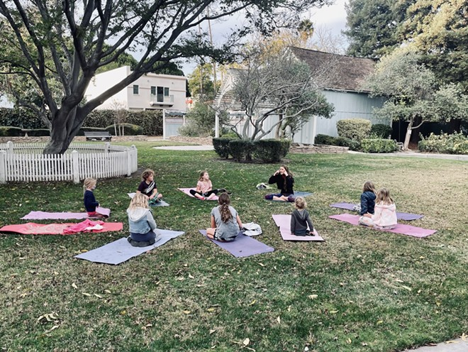 Kids Yoga at the Jack House with SLO Yoga Center