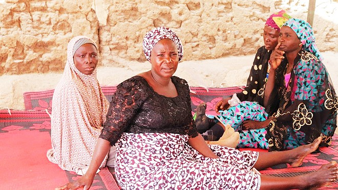 GRIEVING MOTHERS Daughters of Chibok, an 11-minute short film, looks at the aftermath of the kidnapping of 276 teenage school girls by terrorist group Boko Haram.