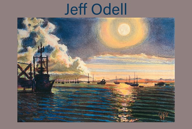 Fine Art Plein Air Oil Paintings by Jeff Odell