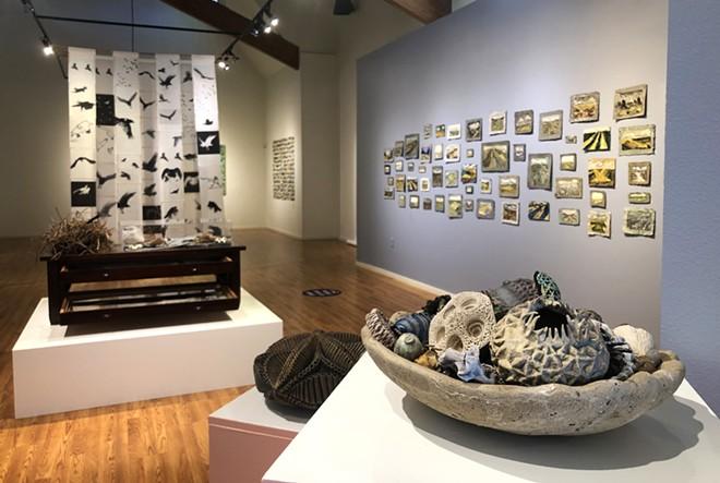 'Bio/Mass: Contemporary Meditations on Nature,' Installation view.