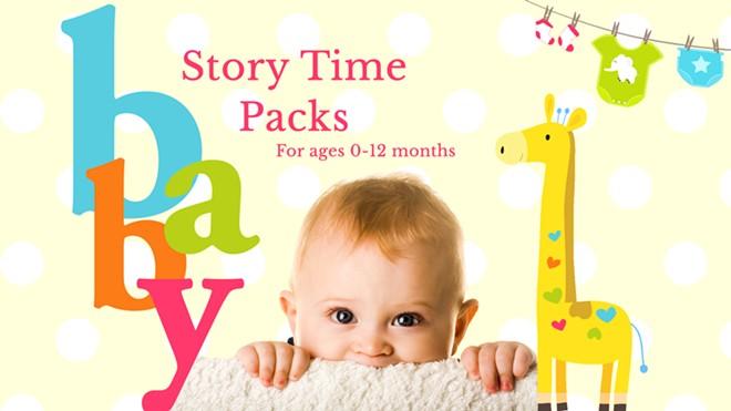 Baby Story Time Packs/Paquetes de Tiempo de Cuentos para Bebes