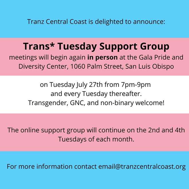 Trans* Tuesday
