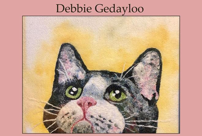 Fine Art Needle Felting by Debbie Gedayloo
