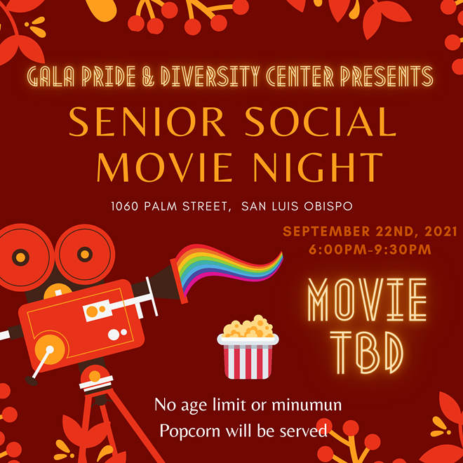 Senior Social Movie Night