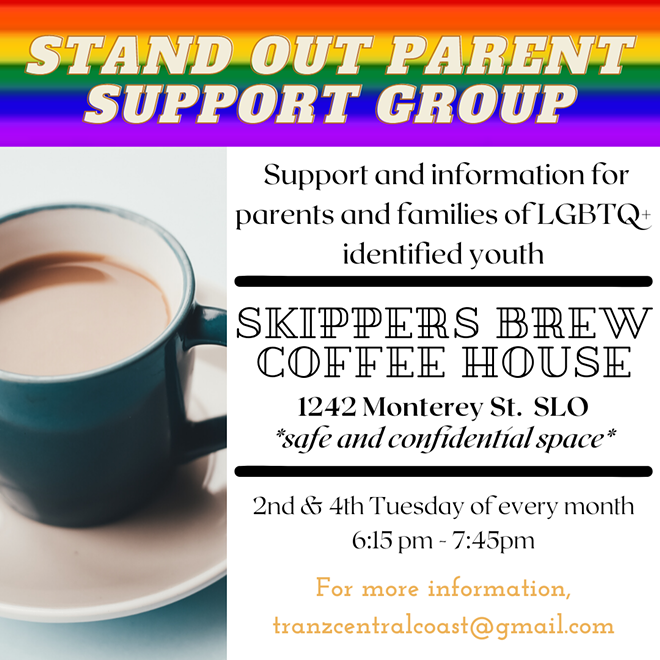 Stand Out Parent Support Group