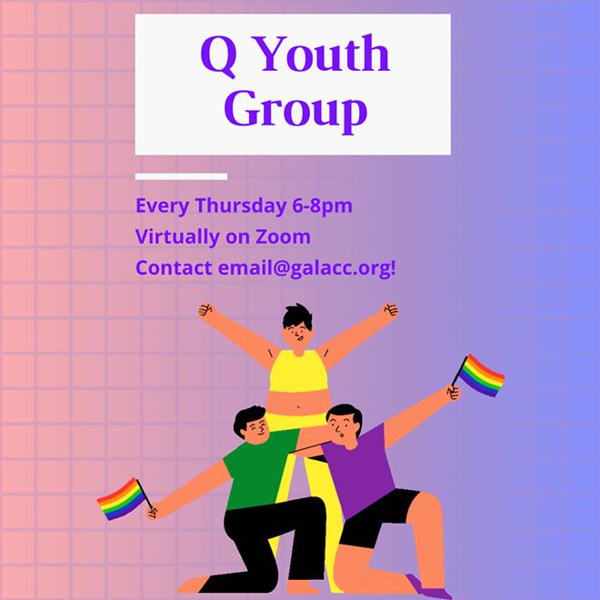 Q Youth Group (Virtually via Zoom)