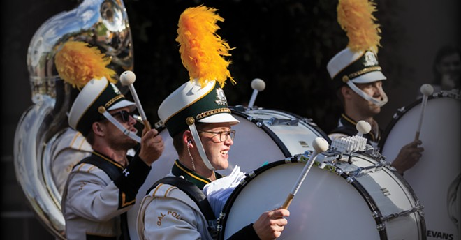 Members of the Mustang Band