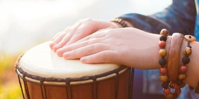 Heart Rhythms Drum Circle at Hospice SLO County