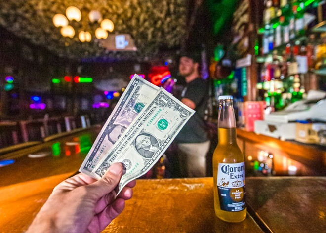 NO PLASTIC Spots like the Cayucos Tavern are on the cash-only train.