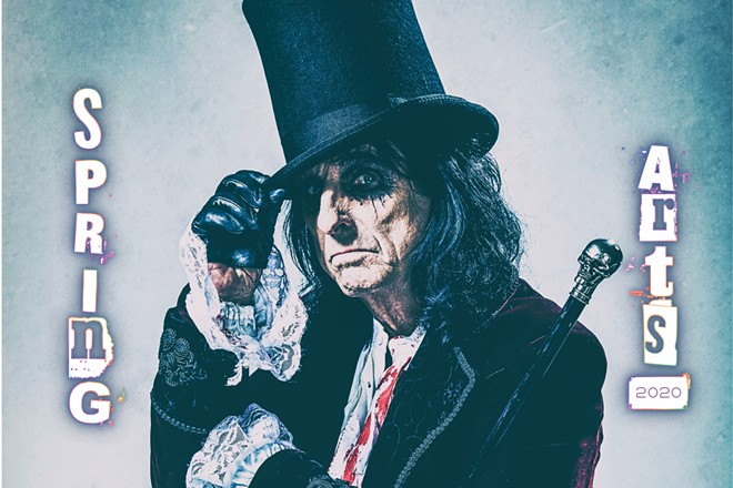 NO MORE MR. NICE GUY Rock legend Alice Cooper will perform at the Vina Robles Amphitheatre in Paso Robles on Saturday, May 30, from 7 to 11 p.m., as part of his 2020 North American tour. Tickets to the show range from $60 to $99. Call (805) 286-3680 or visit vinaroblesamphitheatre.com to find out more about the concert.