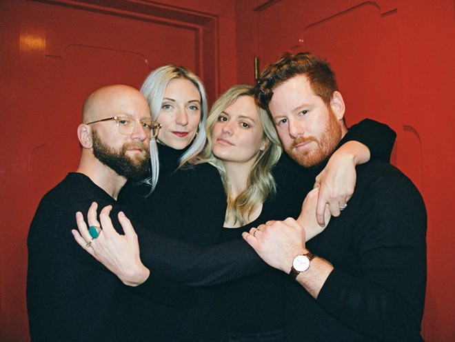 """GOOD GRIEF Fialta—Michael Leibovich, Beth Leibovich, Sarah Shotwell, and David Provenzano—just released """"Made It This Far,"""" a terrific new track about the difficulty of expressing grief."""