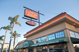NEW DIGS Giuseppe's Cucina Rustica finally re-opened in Pismo Beach after a fire devastated the restaurant in 2016. With a second spot in a historic building in downtown SLO, it's no wonder this is the kind of Italian our readers want. - PHOTO BY JAYSON MELLOM