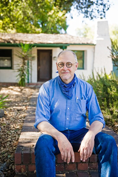 LAUNCHING CAMPAIGNS James Papp, a local historian who recently feuded with city officials as the chair of the Cultural Heritage Committee, is one of 12 candidates to join the SLO city election races. - PHOTO BY JAYSON MELLOM