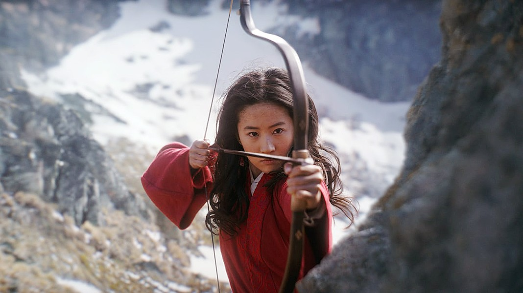 FEMALE POWER Standing in for her father, Hua Mulan (Yifei Liu) impersonates a male to fight in the Imperial Army against Bori Khan and his warriors in the Disney live-action remake of Mulan. - PHOTO COURTESY OF DISNEY