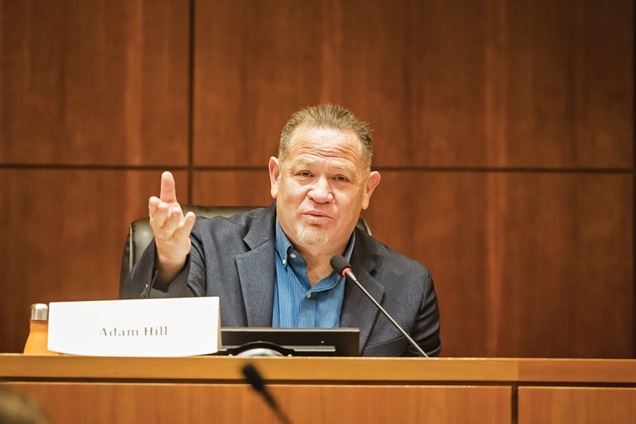 SETTLED San Luis Obispo County will pay a settlement to a former county employee who alleged that late 3rd District Supervisor Adam Hill sexually harassed her and created a hostile work environment before his August passing. - FILE PHOTO BY JAYSON MELLOM