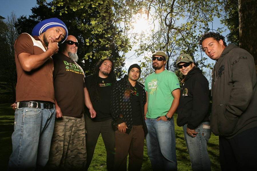 MAORI POWER! :  SLO Brew hosts reggae favorites Katchafire on July 6. - PHOTO COURTESY OF KATCHAFIRE
