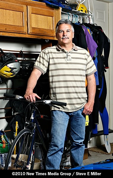 'READY ON DAY ONE' :  Taking the reigns of a troubled department and making it work again is nothing new to former Pismo Beach Chief of Police Joe Cortez. - PHOTO BY STEVE E. MILLER