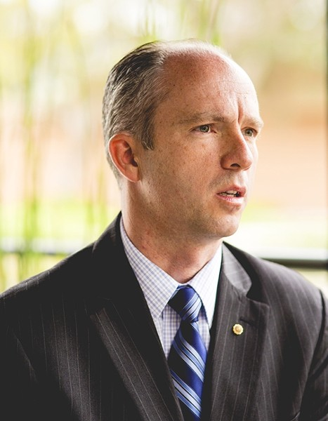 FALSE PROMISE:  SLO County District Attorney Dan Dow believes voters were misled about what Proposition 47 would actually do. And with that law in place, Dow said he believes the wrong types of offenders will be getting off easy. - FILE PHOTO BY HENRY BRUINGTON
