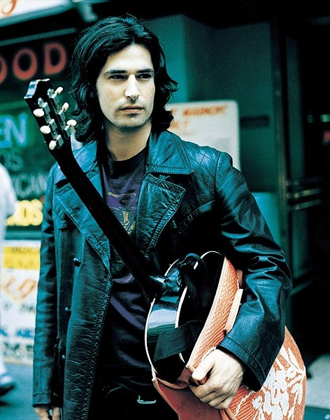 YOU & HIM ACOUSTIC:  Amazing alt rock singer-songwriter Pete Yorn brings his intimate You & Me Acoustic Tour to SLO Brew on April 26. - PHOTO COURTESY OF PETE YORN