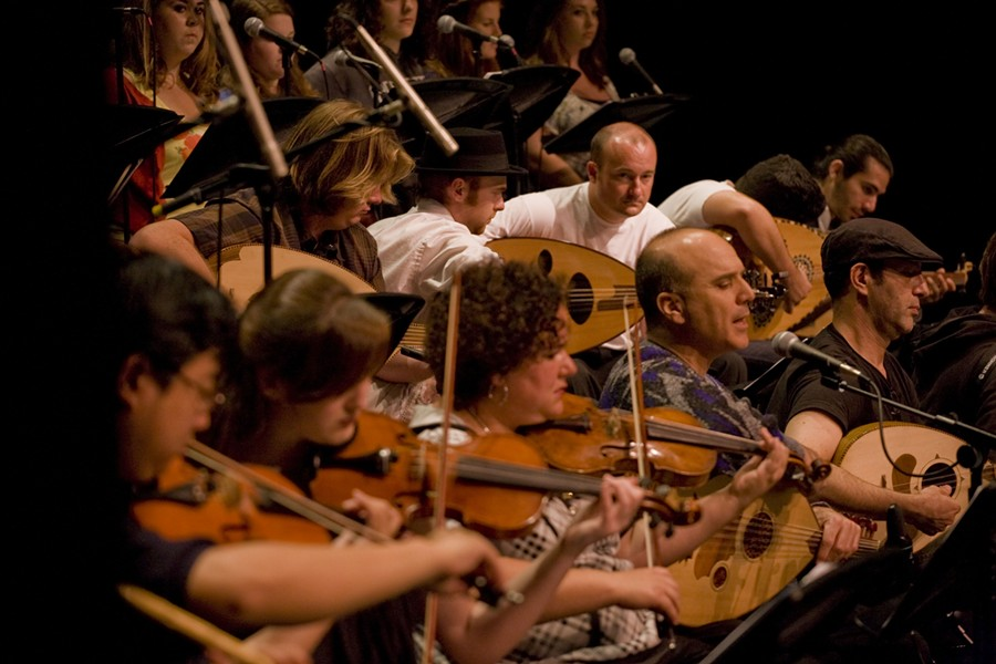 BRINGING THE MIDDLE EAST TO YOU! :  On June 6 in Cal Poly's Spanos Theatre, prepare to be transported to the Middle East by the Cal Poly Arab Music Ensemble. - PHOTO COURTESY OF CAL POLY MUSIC DEPARTMENT