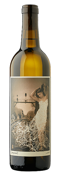 "MYSTERIOUS:  Desperada wines uses female figures as a nod to its winemaker Vailia Esh and her wine's ""muse-like qualities."" - IMAGE COURTESY OF DESPERADA"