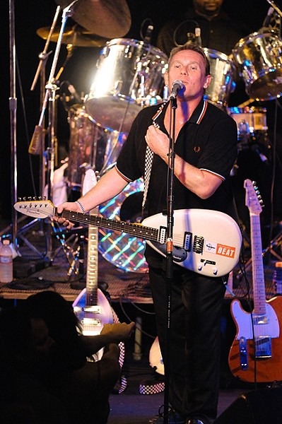 TRY A LITTLE TENDERNESS:  Classic '70s ska act The English Beat, fronted by Dave Wakeling (pictured), returns to SLO Brew when Good Medicine Presents host the band on June 26. - PHOTO BY EUGENIO IGLESIAS