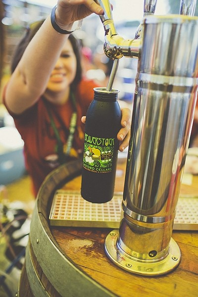 CHEERS TO THE KIDS:  Local beer, Castoro wine, and kombucha will be on tap at Castoro Cellars' annual Beaverstock festival Sept. 19 through 20 in Templeton. Funds will go toward the Templeton Education Foundation and the event itself is kid-friendly with plenty of adventures and activities for youth of all ages. - PHOTO COURTESY OF CASTORO CELLARS