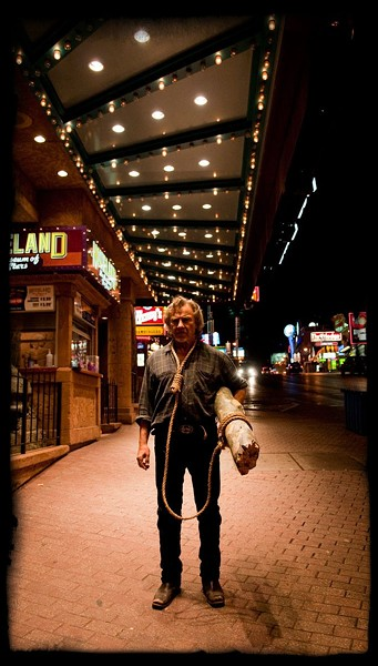 IF AT FIRST YOU DON'T SUCCEED… :  Ramblin' man Duke White (Harvey Keitel) fails to kill himself in the film's opening scene, but by golly, he gets right back up on that horse. - PHOTO COURTESY OF DARIUS FILMS