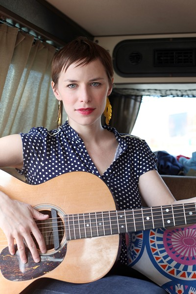 SING IT, SISTER! :  Mississippi lass Kelley McRae, now of NYC, plays two upcoming shows: Oct. 18 at Kreuzberg and Oct. 23 at Sculpterra Winery. - PHOTO COURTESY OF KELLEY MCRAE