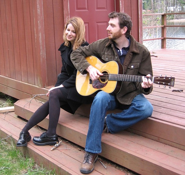 TAKE COMFORT :  Eugene, Ore.-based duo the Comforters takes center stage at the Songwriters at Play showcase on Dec. 23 at the Porch in Santa Margarita. - PHOTO COURTESY OF THE COMFORTERS