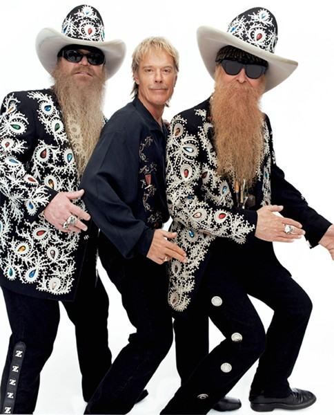 NO INTRODUCTION NEEDED :  Iconic blues rockers ZZ Top headline the OPTIONS fundraising concert, the Avila Beach Music Festival at the Avila Beach Golf Resort, on Sept. 2. - PHOTO COURTESY OF ZZ TOP