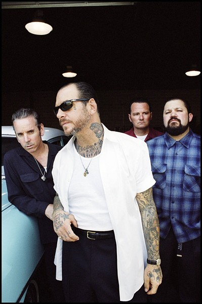 SOCIAL D AT POZO! :  Veteran punk heroes Social Distortion play Pozo Saloon on May 20—their only California date—before touring through Europe for three months. - PHOTO COURTESY OF SOCIAL DISTORTION
