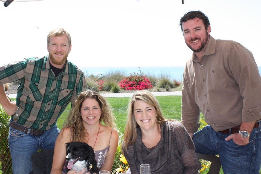BY THE DAWNING OF THE SUN:  Baker & Brain is a family owned and operated boutique winery by Matt and Melanie Brain, and Katie and Josh Baker, respectively. - PHOTO COURTESY OF BAKER & BRAIN