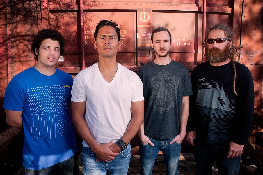 READY TO ROCK STEADY :  The San Diego-based Reggae and ska quartet One Drop hits the Frog and Peach on May 21. - PHOTO COURTESY OF ONE DROP